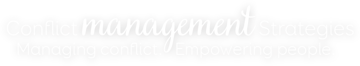 Logo: Conflict Management Strategies